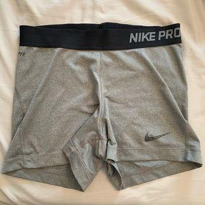 Gray Nike Spanks